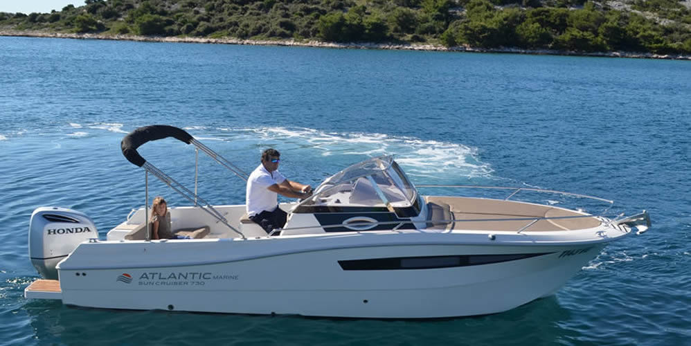 Atlantic 730 Sun Cruiser - Rent a boat Tribunj Vodice