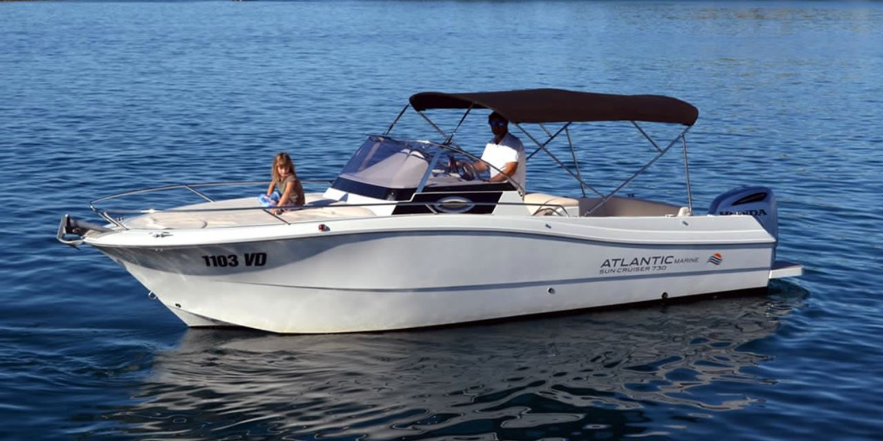 Atlantic 730 Sun  - Rent a boat Tribunj Vodice